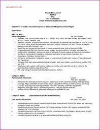 Sample Resume For Mechanical Maintenance Technician Valid Resume