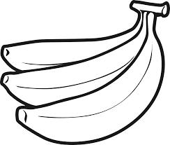 Banane Coloriage Laspromcloset Com Banane Dessin L