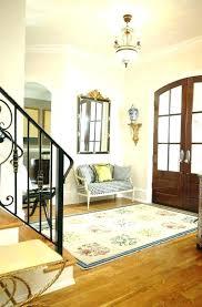 inside front door rug foyer rugs doors for size entry e