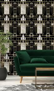 Glamour Behang Zwart Funkywalls Dé Webshop Voor Vintage En