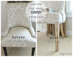 Rustic Glam Chair Makeover-Easy Fix For Those Dark Legs   City ...