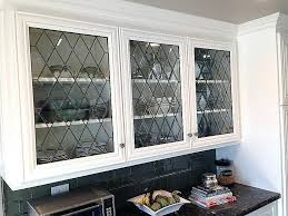 decr stained glass cabinet antique doors
