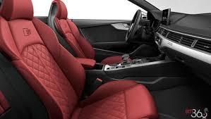 2018 audi s5 interior. beautiful audi magma redgranite grey leather  for 2018 audi s5 interior