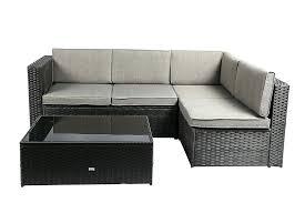 baner garden outdoor furniture garden bl wicker patio set 4 baner garden 4 piece outdoor furniture