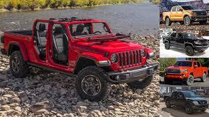 Comparison: 2020 Jeep Gladiator vs. 2019 Ford Ranger, Chevy Colorado ...