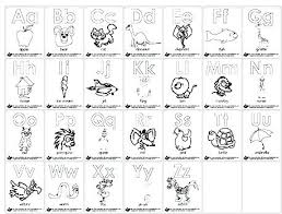 Alphabet Coloring Pages For Toddlers Coloring Pages For Kindergarten