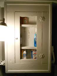 Antique Medicine Cabinet Bathroom Remodel Medicine Cabinet With Fluorescent Lights Adorable