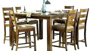 rustic counter height dining table room sets mesmerizing tab