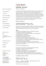 sample resume for quantity surveyor quantity surveyor resume