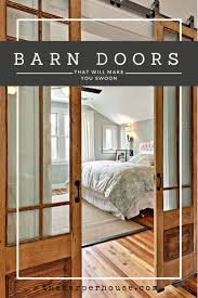 Overlapping Sliding Barn Doors Best 25 Sliding Barn Doors Ideas Only On Pinterest Barn Doors