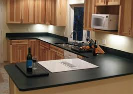kitchen countertop made from 100 recycled materials