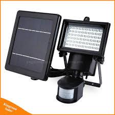 Solar Powered Motion Detector Security Lights Hot Item Outdoor Solar Light 60 Leds Pir Motion Detector Door Wall Security Lamp