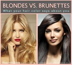 Blonde vs brunette whodoyougot