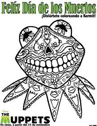 Small Picture El Dia de los Muertos the Day of the Dead Coloring Sheet She