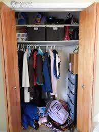 Image Entryway Closet Organized Space Of The Weeku2026 Coat Closet Bowl Full Of Lemons How To Organize The Coat Closet Bowl Full Of Lemons
