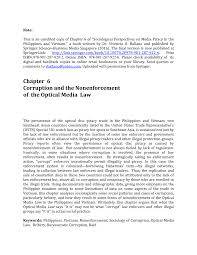 Threat of kayani's council in the indian subcontinent the last 10 years have seen drastic changes in asia. Pdf Corruption And The Nonenforcement Of The Optical Media Law