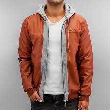 pelle jacket leather mix up in brown men jackets
