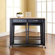 Crosley Furniture Kitchen Cart Crosley Furniture Natural Wood Top Kitchen Island Best Kitchen