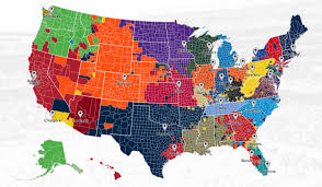Nfl Fan Map Where Are Your Teams Followers