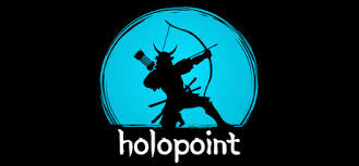 steam vr logo. holopoint is pure archery madness. fight your way through waves of responsive targets, samurai, and highly dangerous ninjas - all while drawing, nocking, steam vr logo