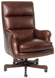furniture executive seating classic styled leather desk chair with nail head trim seven seas replacement parts