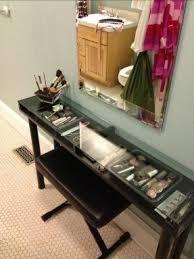 black makeup vanity with drawers. ikea makeup vanity...omg i need this! black vanity with drawers a
