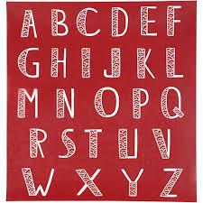 Tous Les Pochoirs Alphabets Pour D Coration