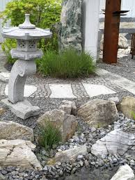 With minimal to no plants your rock garden can still bring lots of texture  and visual