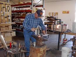 modern blacksmith workshop. blacksmith modern workshop