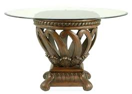 glass top tables with metal base impressive design round glass top dining table round glass top