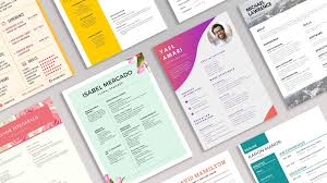 Modern Sleek Resume Templates 20 Modern Professional Resume Templates To Try Learn