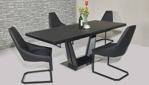 black seater room table round gumtree top extending chair century tables chairs sets for cape seats