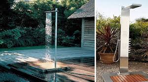 outdoor shower. Dressing Room Decorating Ideas Modern Outdoor Shower Design Of With Images