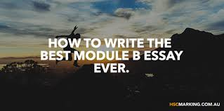 how to write the best module b essay ever  how to write the best module b essay ever