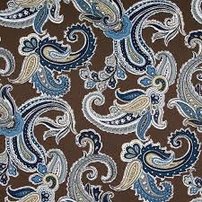 navy blue paisley cotton upholstery fabric blue brown blue paisley curtains decorating blue paisley shower curtain