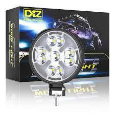 48W Đèn LED Làm Đèn 1200LM Mini Tròn LED Siêu Sáng Ánh Sáng Ban Ngày Trắng  Ánh Sáng Vàng Đèn Cho Xe Ô Tô Xe Máy xe Tải Xe Ô Tô