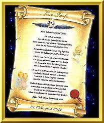 Patenschaft Für Ein Kind Urkunde Als Geschenk
