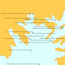 Great Hill Buzzards Bay Massachusetts Sub Tide Chart