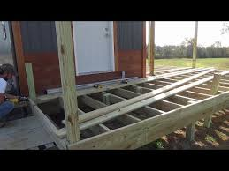 Small Picture S3E2 Deck Floor Framing The Hermstead Tiny House YouTube