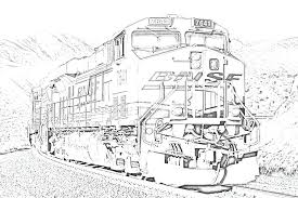 The Train Color Pages The Train Coloring Pages Free Coloring The