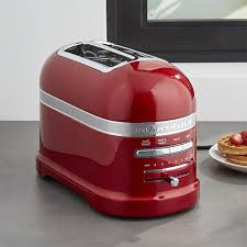 kitchenaid kmt423 4 slice toaster empire red peter s of