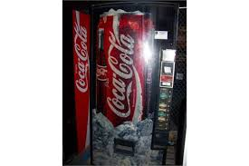 Coca Cola Vending Machine Commercial Beauteous Item Is In Used Condition Evidence Of Wear And Commercial Operation