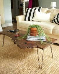natural wood slab coffee table awesome wood slab coffee table design ideas in living room home