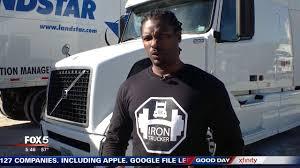otr driver ga truck driver develops fitness app using tractor trailer as gym