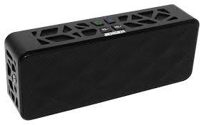 jensen bluetooth wireless stereo speaker black