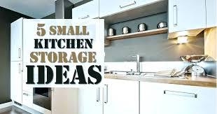 5 small kitchen storage ideas solutions tiny diy
