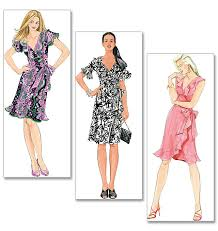 Wrap Dress Sewing Pattern Stunning NEW LAURA ASHLEY RUFFLE WRAP DRESS SEWING PATTERN EBay