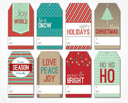 Gift For Letter Of Recommendation Holiday Gift Tags H Holiday Gift Tags Template As Letter Of