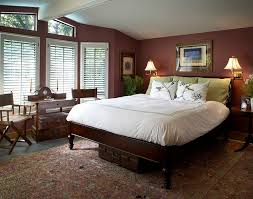 bold bedroom colors. pantone color of the year marsala used for bedroom walls [design: harrell remodeling bold colors n
