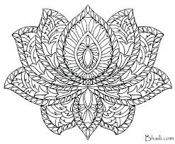 Mandala Coloring Pages For Adults Coloring Pages Of Mandalas Free
